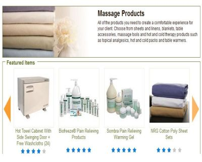 Supplies for Massage Therapists | Online Massage Therapy Supplies Store